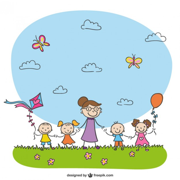 kindergarten-drawing-vector_23-2147501463